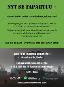 Virrantähden uudet suunnitelmat julkistetaan!