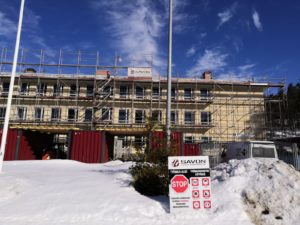 Matin ja Liisan koulun Sirén-rakennuksen peruskorjaus